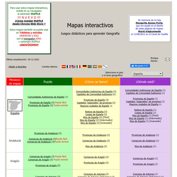 Mapas interactivos flash