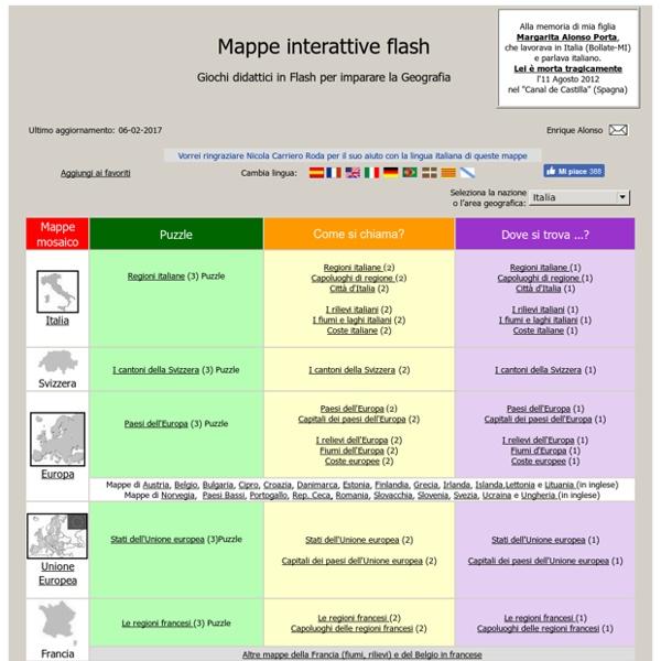 Mappe interattive flash