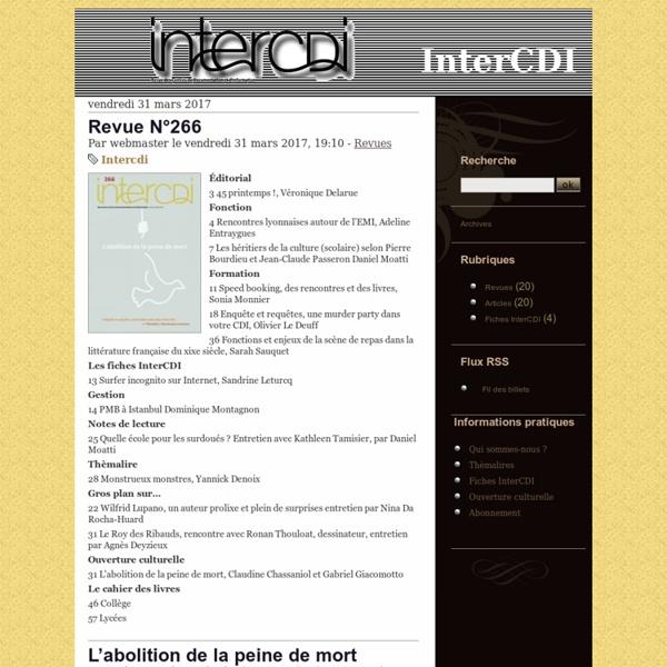 InterCDI