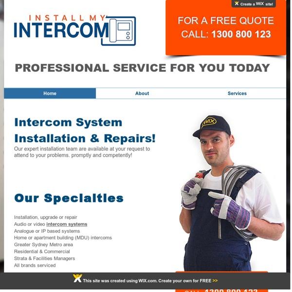 Intercom System Sydney - installmyintercom
