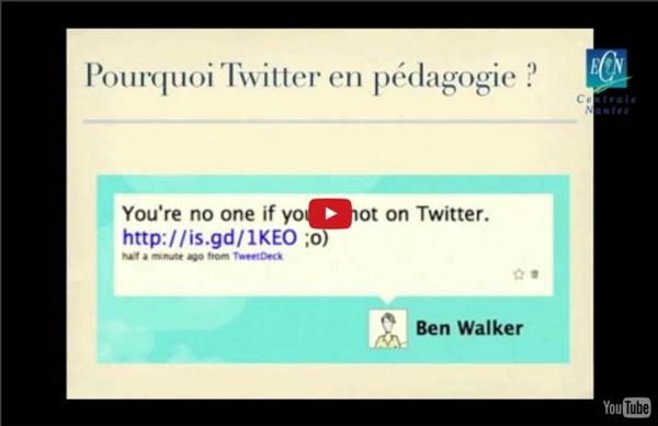 Quel intérêt pour les réseaux sociaux (notamment Twitter) en pédagogie ?
