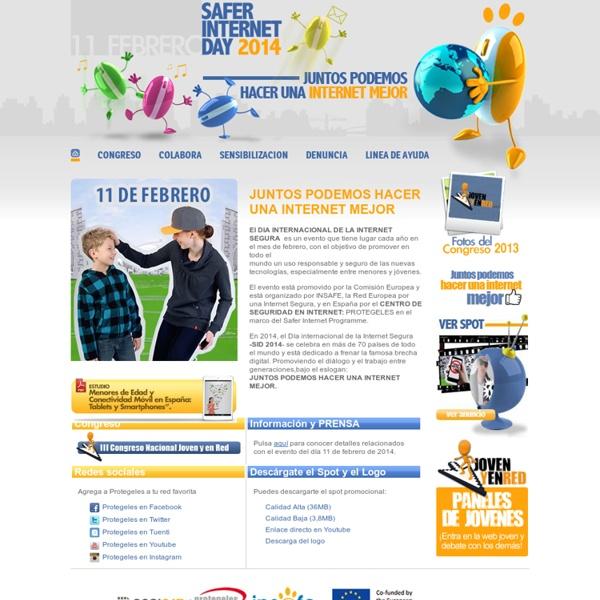 Día Internacional de la Internet Segura 2013 - CONECTATE Y RESPETA - SID 2013