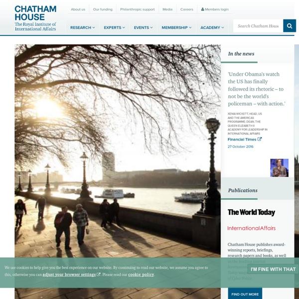 Chatham House - Home