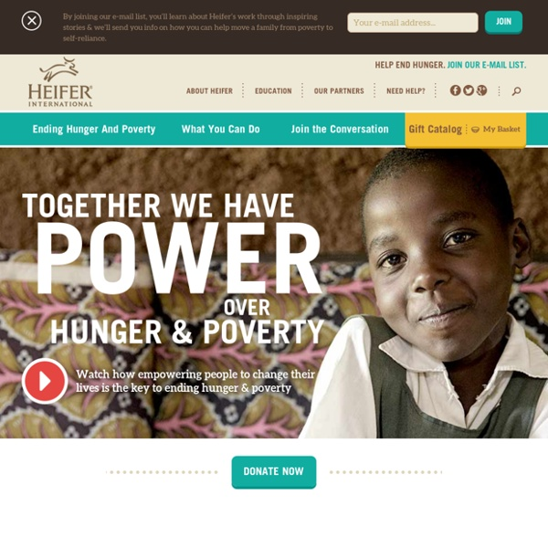 Charity Ending Hunger And Poverty