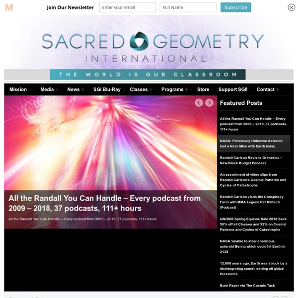 Sacred Geometry International - The World Is Our Classroom