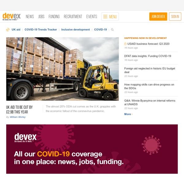 International Development Jobs, Business, News & More