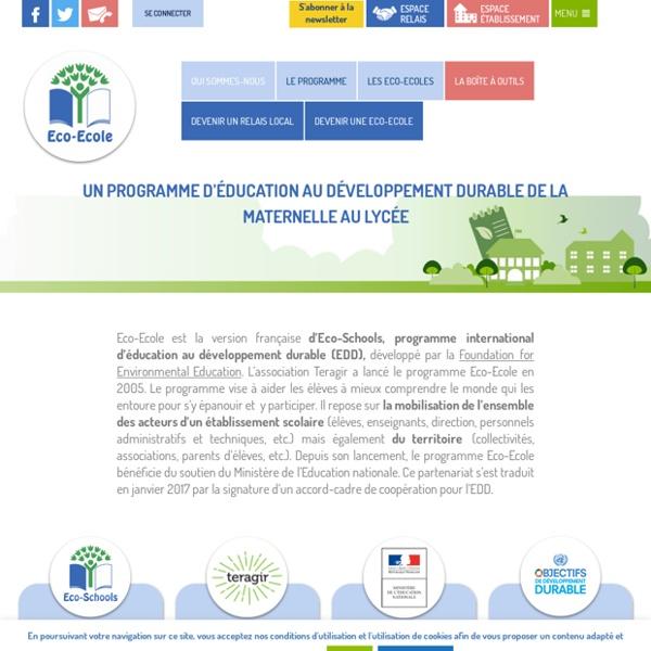 Eco école : un programme international d'éducation au développement durable