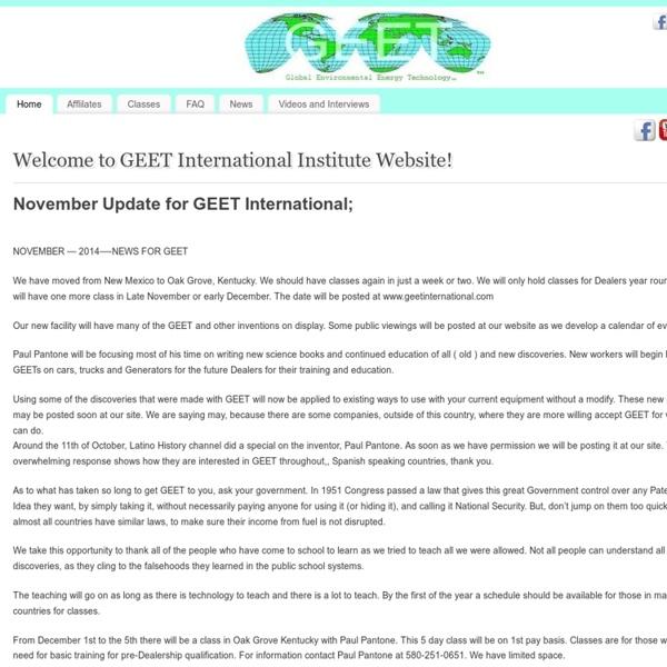 GEET International Institute Educational Website