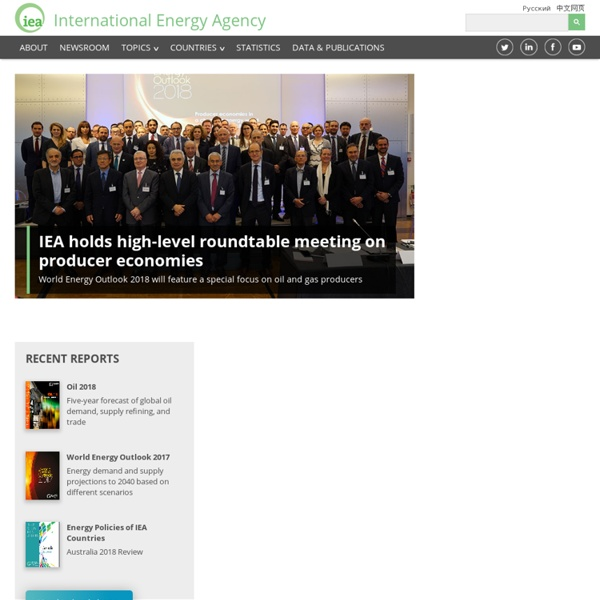 IEA - International Energy Agency - affordable clean energy for all