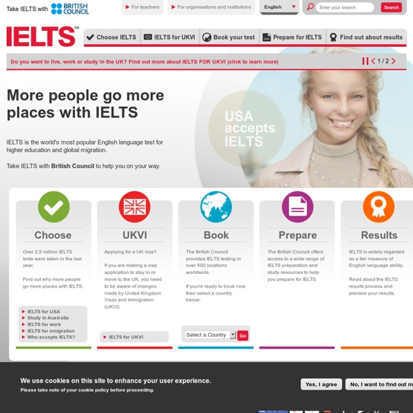 IELTS International English language test system