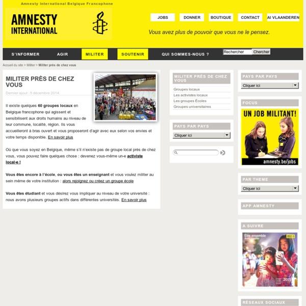Dossier pédagogique d'Amnesty International sur la liberté d'expression (2011)
