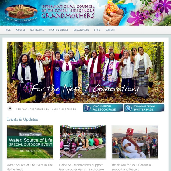 International Council of Thirteen Indigenous Grandmothers