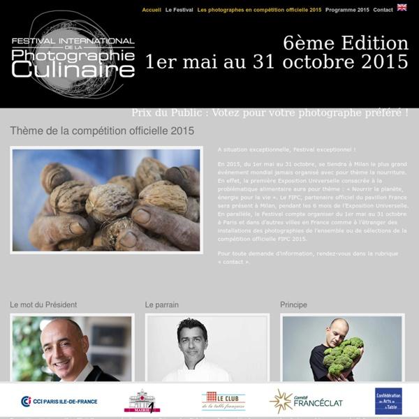 Festival International de la Photographie Culinaire - Edition 2012
