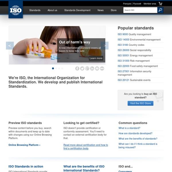 International Organization for Standardization