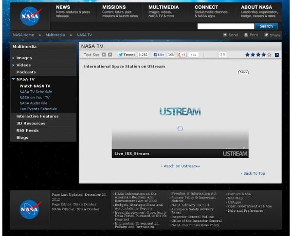 Estación Espacial Internacional HD UStream