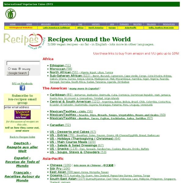 IVU - Vegan Recipes Around the World