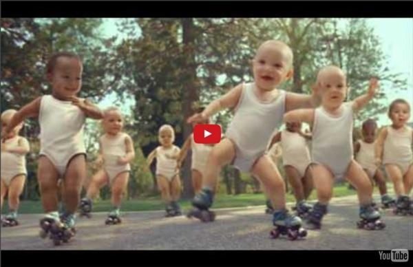 Evian Roller Babies international version