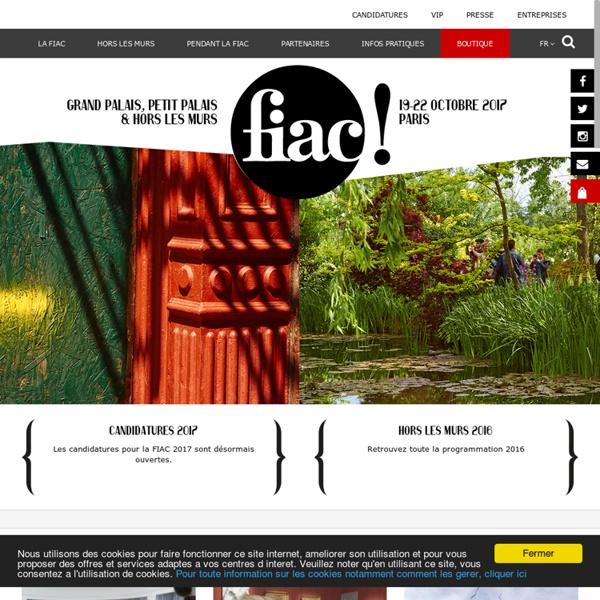FIAC - Foire Internationale d'Art Contemporain - Paris