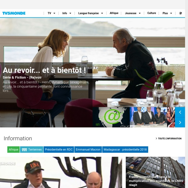TV internationale francophone : Info, Jeux, Programmes TV, Météo, Dictionnaire.