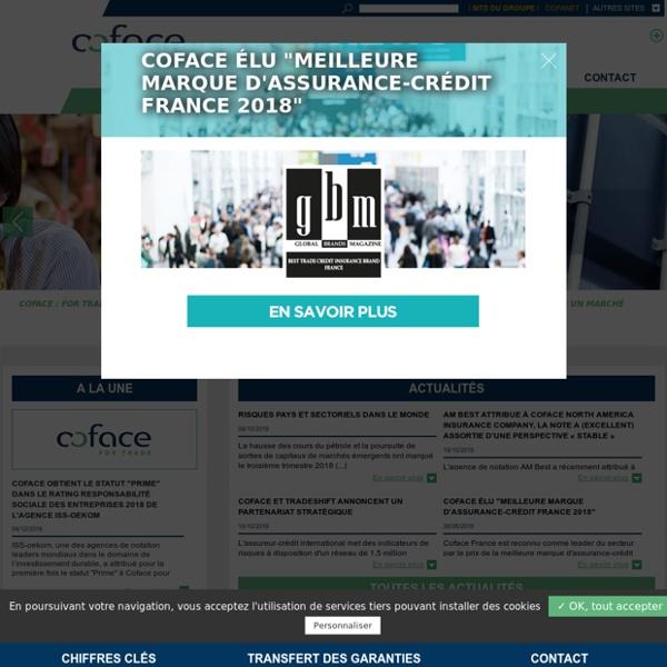 Coface, expert en assurance-crédit internationale pour entreprise