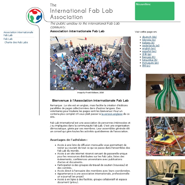 Association internationale Fab Lab - International Fab Lab Association