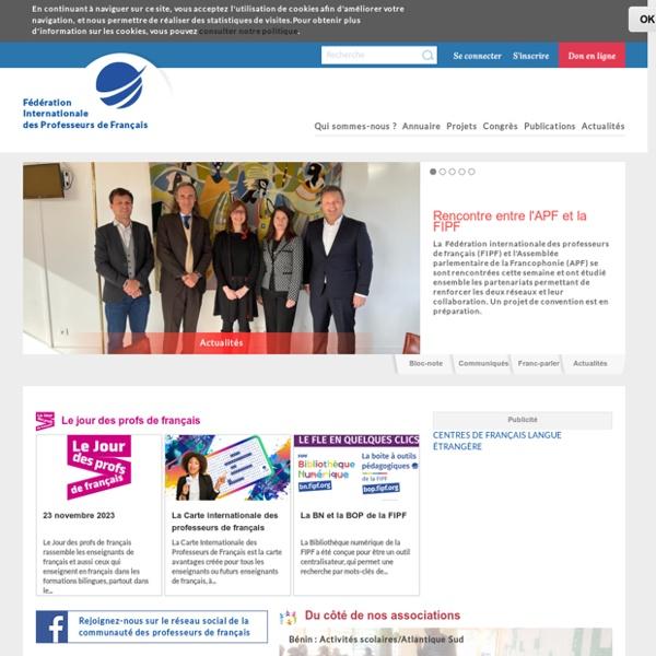 Fédération Internationale des professeurs de français