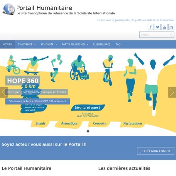 Portail francophone de la Solidarité Internationale pour la sensibilisation du public et le renforce