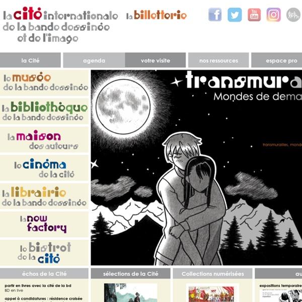 La Cité internationale de la bande dessinée et de l'image - Toutes les activités et ressources de la Cité à portée de clic.