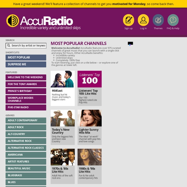 Mix & match over 600 streaming radio stations