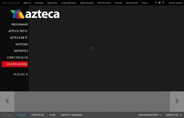 TV en vivo por internet y capítulos en línea - azteca.com