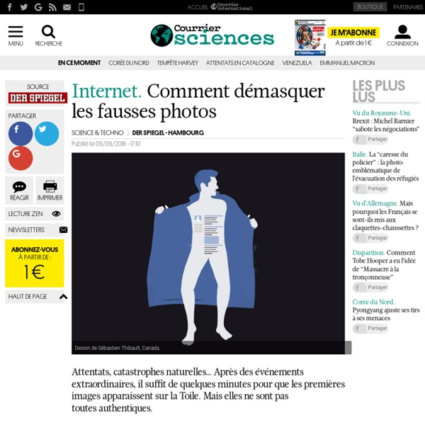 Internet. Comment démasquer les fausses photos