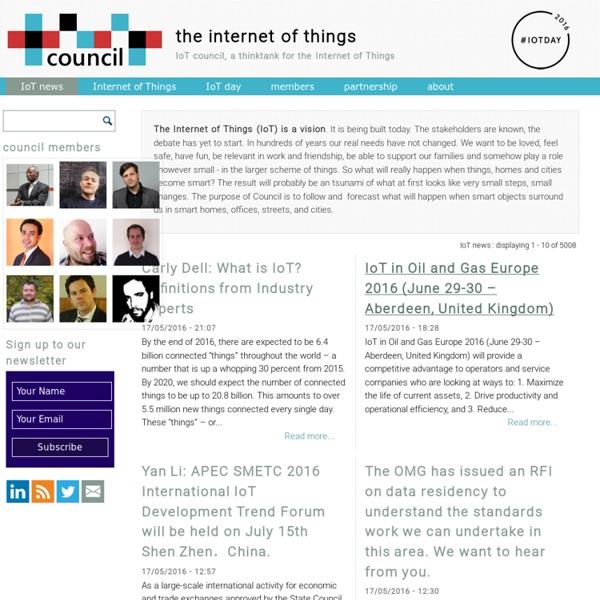 Are you ready for the Internet of Things?