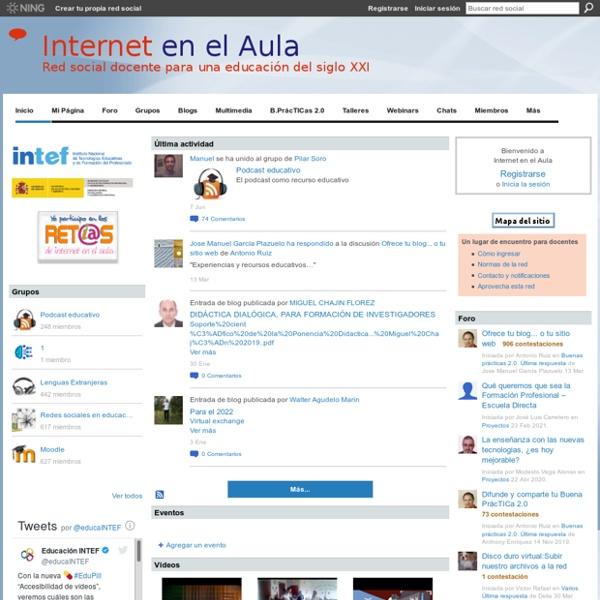 Internet en el Aula - Red social docente para una educación del siglo XXI