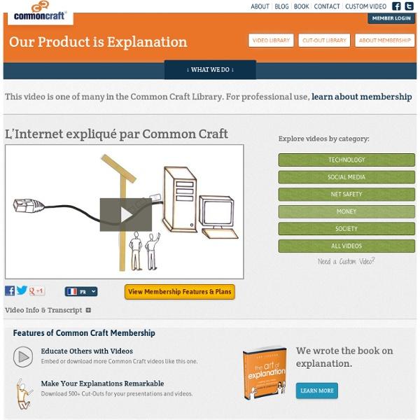 L'Internet expliqué par Common Craft