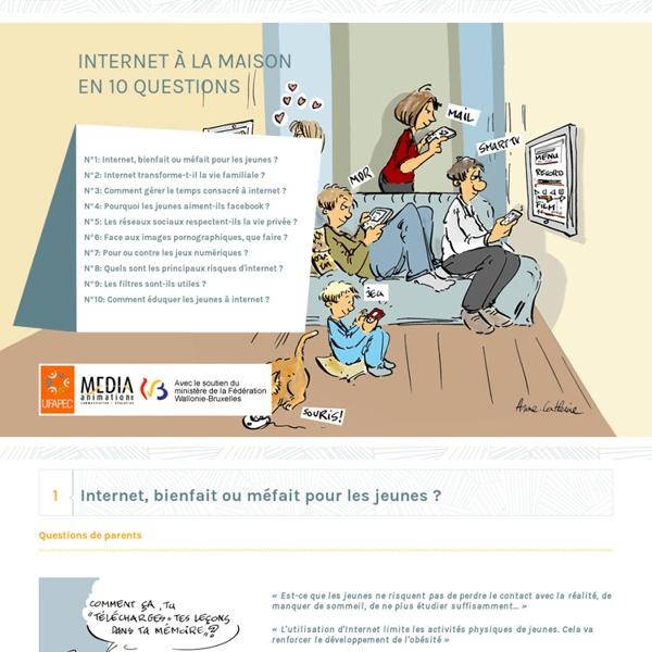 Internet à la maison en 10 questions