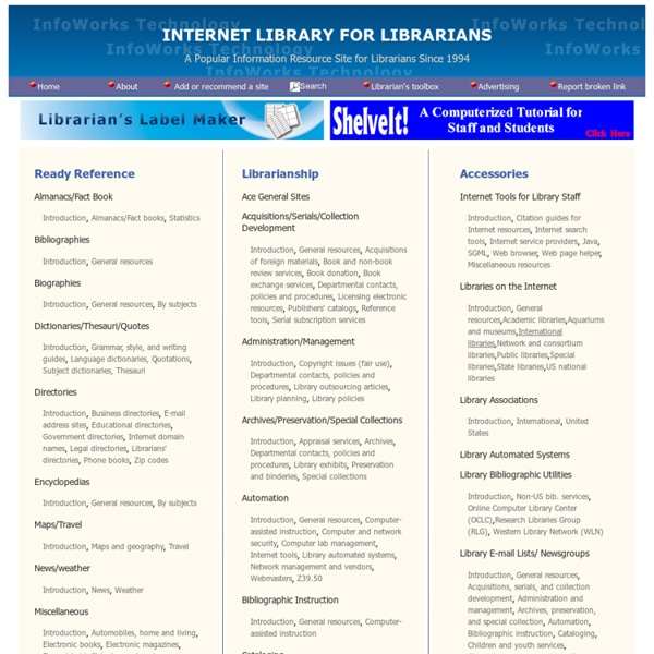 Internet Library for Librarians