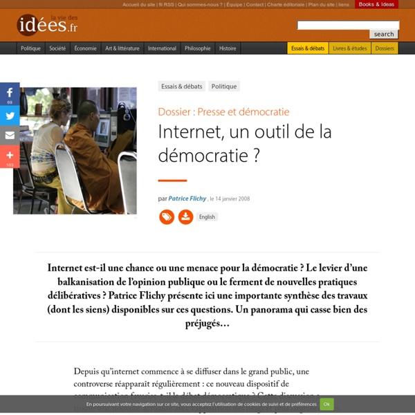 Internet, un outil de la démocratie ?