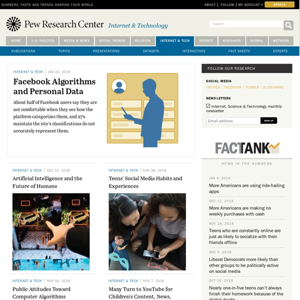 Pew Research Center's Internet and American Life Project