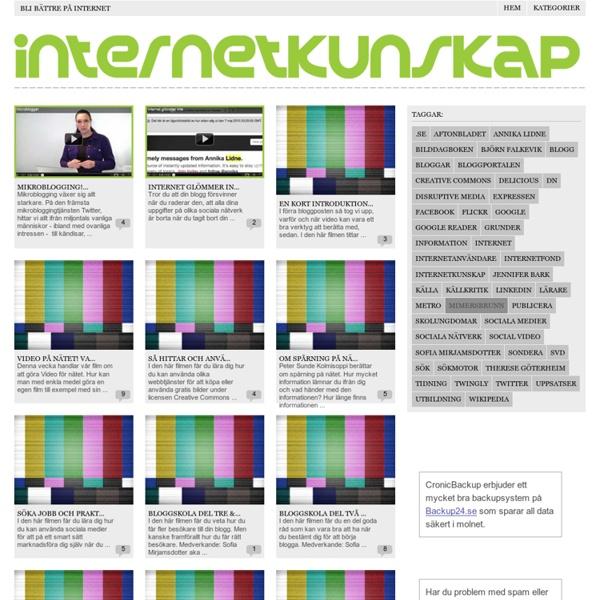 Internetkunskap.se