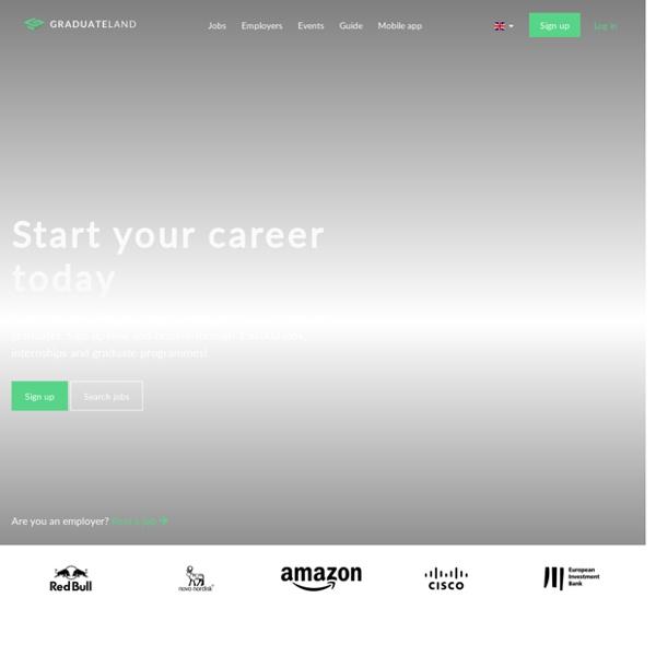 Internships and Graduate Jobs - Graduateland