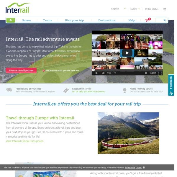 Interrail : l'aventure vous attend !