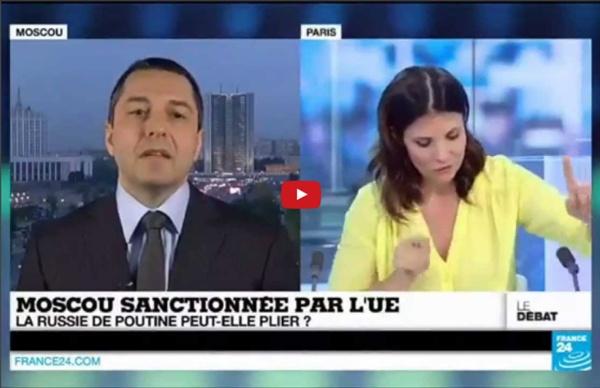 Enorme! Un intervenant balance tout sur les USA et l'UE en plein direct de France24