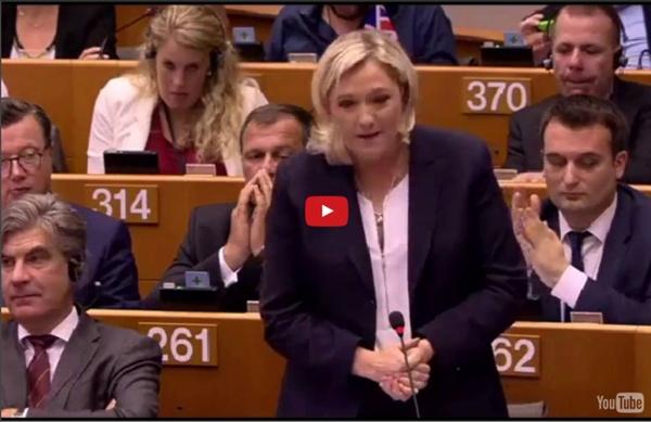 Intervention de Marine Le Pen au Parlement européen suite au Brexit (28/06/2016)