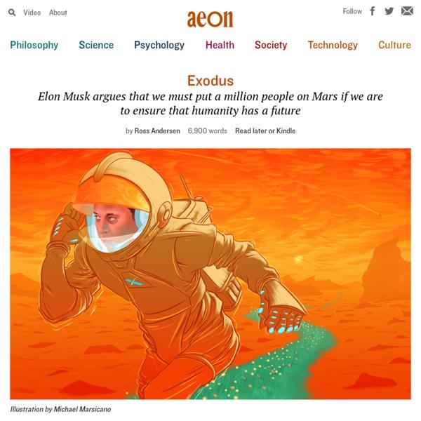 The Elon Musk interview on Mars colonisation – Ross Andersen