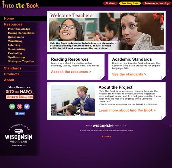 Into the Book: Teacher Area
