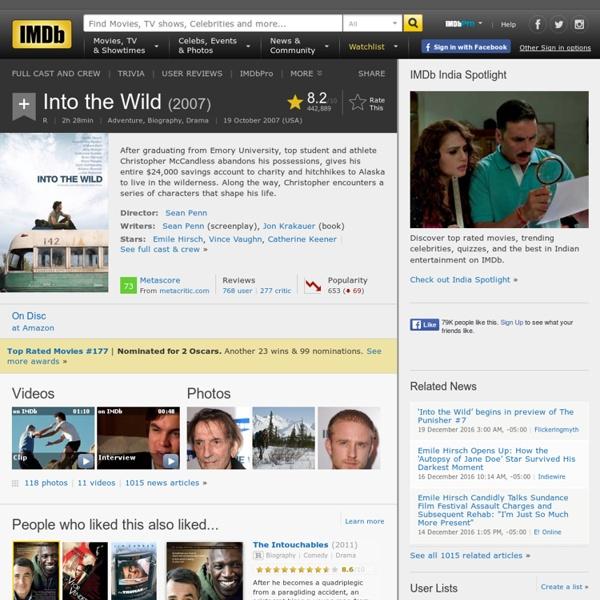 Into the Wild (2007