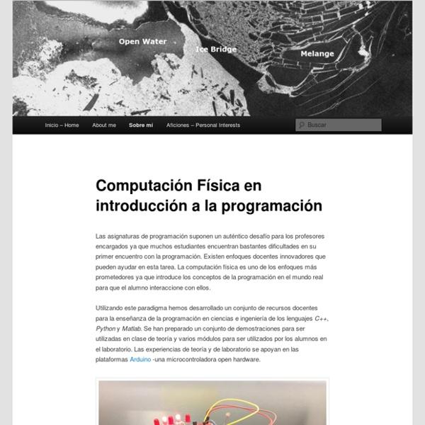 Computación Física en introducción a la programación