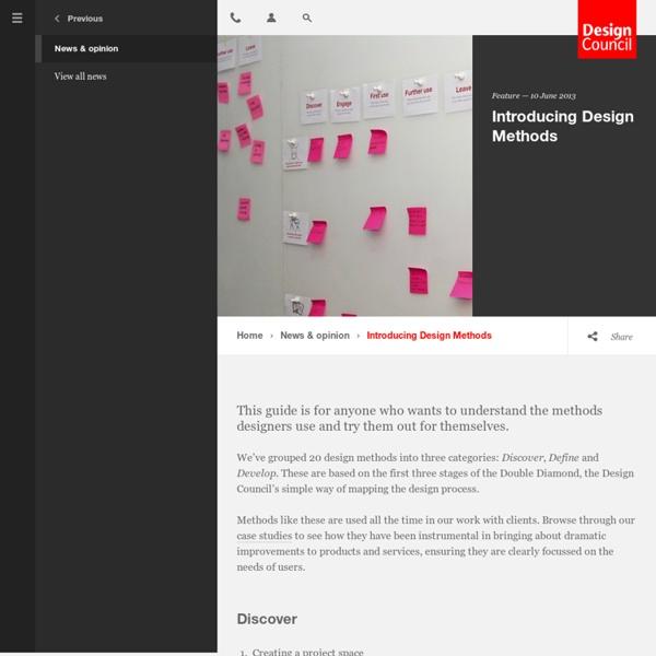 Introducing Design Methods