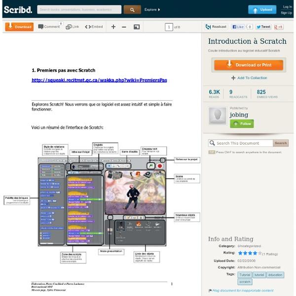 Introduction à Scratch