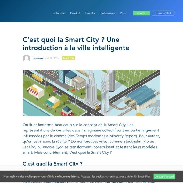 C'est quoi la Smart City : une introduction compréhensible